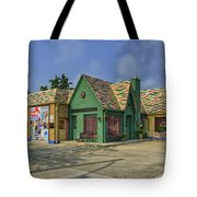 Old Gas Station Route 66 Cuba Mo Dsc05559 Tote Bag
