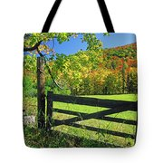 Old Gate At East Orange Tote Bag