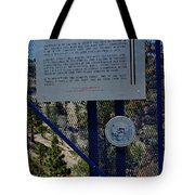 Old Geiger Grade Nevada Tote Bag