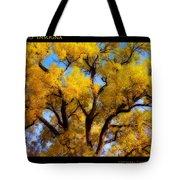 Old Giant  Autumn Cottonwood Orton Tote Bag