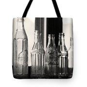 Old Glass Bottles Tote Bag