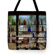 Old Glass Tote Bag