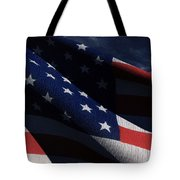 Old Glory 2 Tote Bag