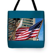 Old Glory In Baltimore Tote Bag