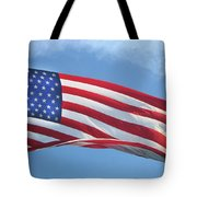Old Glory Never Fades Tote Bag