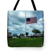 Old Glory Over Baltimore Tote Bag