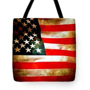 Old Glory Patriot Flag Tote Bag
