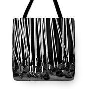 Old Golf Clubs Tote Bag