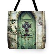 Old Gothic Door Tote Bag