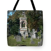 Old Graves Tote Bag