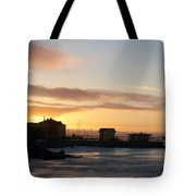 Old Harbour Of Kemi Tote Bag