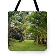 Old Hawaiian Garden Tote Bag