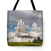 Old Hodegetria Church In Vyazma Tote Bag