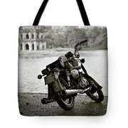 Old Honda In Hanoi Tote Bag