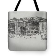 Old Horse Shed  Tote Bag