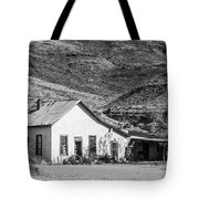 Old House And Foothills Tote Bag
