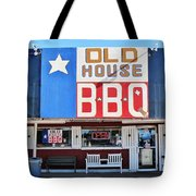 Old House Bbq Tote Bag