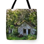 Old House Blues Tote Bag