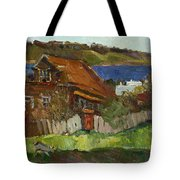 Old House By The River Tote Bag
