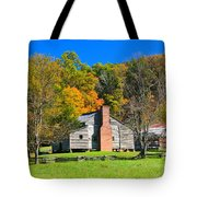 Old House In Cades Cove Tn Tote Bag