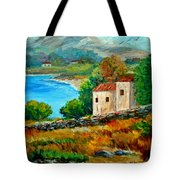 Old House In Mani Tote Bag