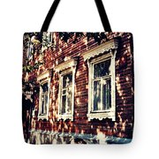 Old House In Moscow Tote Bag