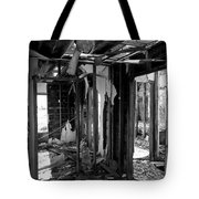 Old House Interior Construction Tote Bag