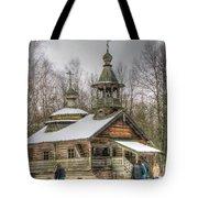 Old House Izba Tote Bag