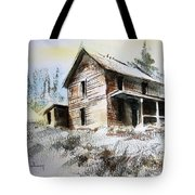 Old House Marysville Ghosttown Montana Tote Bag