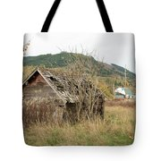 Old House New House Tote Bag