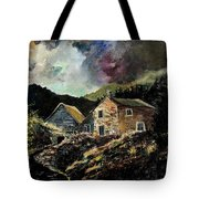 Old Houses 5648 Tote Bag