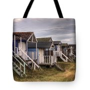 Beach Huts At Old Hunstanton Tote Bag