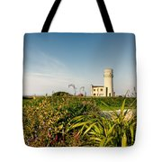 Old Hunstanton Lighthouse North Norfolk Uk Tote Bag