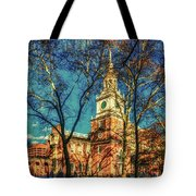 Old Independence Hall Tote Bag