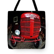 Old International Harvester Tractor Tote Bag
