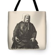 Old Irish Woman, First State By George Bellows Tote Bag