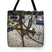 Old Iron Cross Tote Bag