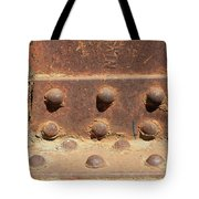 Old Iron Hinges Tote Bag