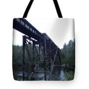 Old Iron Holding Strong Tote Bag