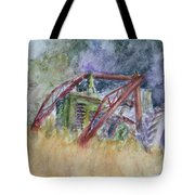 Old John Deere Tractor In The Back 40 Tote Bag