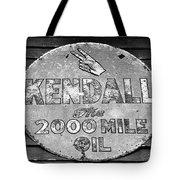 Old Kendal Sign Tote Bag