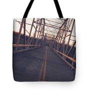 Old Knik Bridge 3 Tote Bag