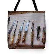 Old Knives Tote Bag