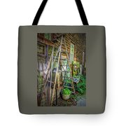 Old Ladder Tote Bag