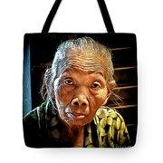 Old Lady Tote Bag