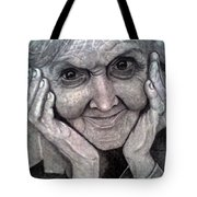 Old Lady Tote Bag