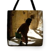 Old Lady Tangier. Tote Bag