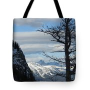 Old Larch Tree Has Best View Tote Bag