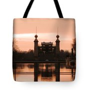 Old Lift Lock Tote Bag