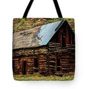 Old Log Cabin-barn Tote Bag